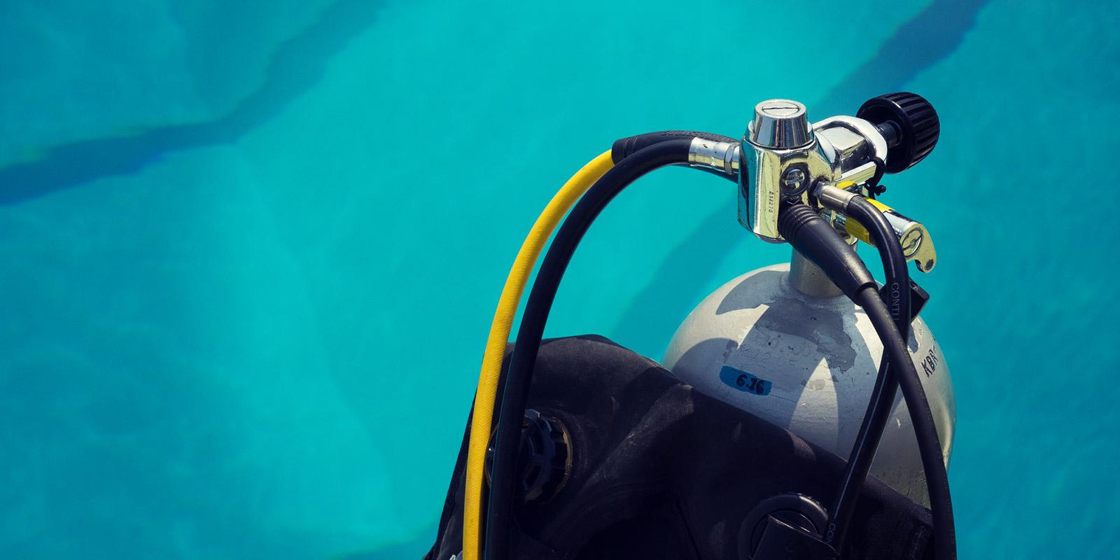 ダイビングのレンタル機材